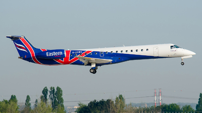 G-CGWV - Embraer ERJ-145MP - Eastern Airways