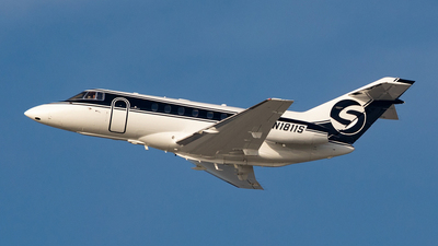 N1811S - Hawker Beechcraft 800XP - Private