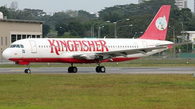 EI-FCS - Airbus A320-232 - Kingfisher Airlines