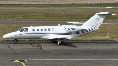 N702BD - Cessna 525A CitationJet 2 Plus - Private