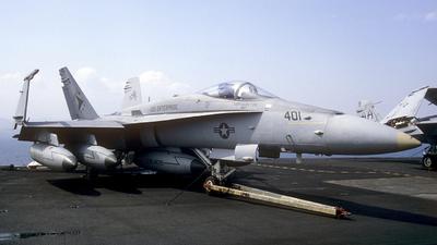 163459 - McDonnell Douglas F/A-18C Hornet - United States - US Navy (USN)