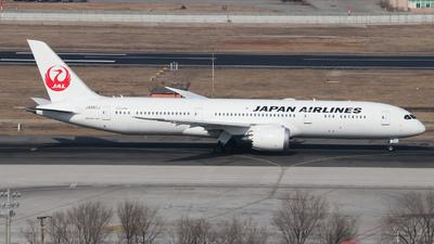 A picture of JA880J - Boeing 7879 Dreamliner - Japan Airlines - © Egg manager