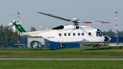 A picture of EZS721 - Sikorsky S92A - [920026] - © Dmitry Molokovich