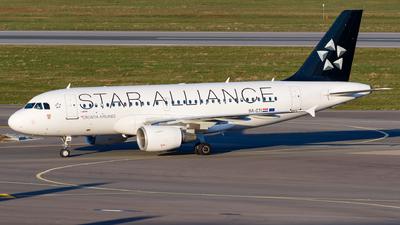 9A-CTI - Airbus A319-112 - Croatia Airlines