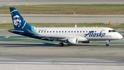 A picture of N634QX - Embraer E175LR - Alaska Airlines - © global_flyer1