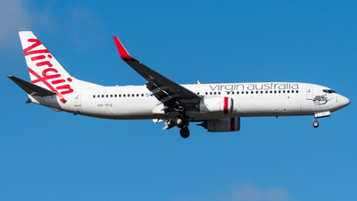 A picture of VHYFU - Boeing 7378FE - Virgin Australia - © Andrew Lesty
