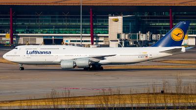 D-ABYP - Boeing 747-830 - Lufthansa