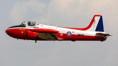 A picture of GBVEZ - P84 Jet Provost T3A - [PAC/W/9287] - © Sebastian Sowa