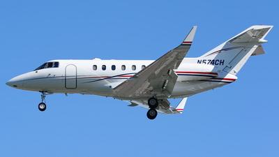 N574CH - Raytheon Hawker 800XP - Private