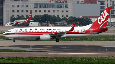 A picture of B1276 - Boeing 73789P - China United Airlines - © Michael Tang