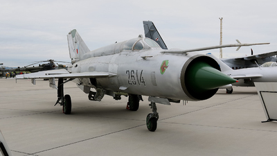 2614 - Mikoyan-Gurevich MiG-21MA Fishbed J - Czech Republic - Air Force