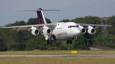 OO-DJO - British Aerospace Avro RJ85 - Brussels Airlines