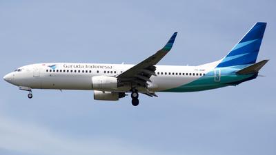 A picture of PKGMF - Boeing 7378U3 - Garuda Indonesia - © Herison Riwu Kore