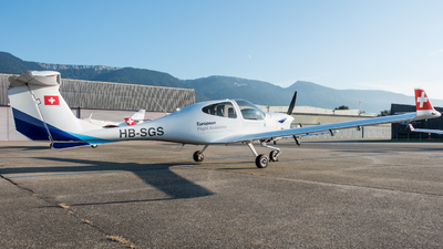 HB-SGS - Diamond DA-40NG Diamond Star - European Flight Academy