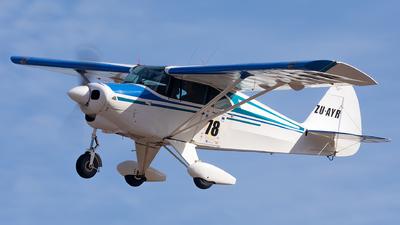 ZU-AYR - Piper PA-22-150 Tri-Pacer - Private