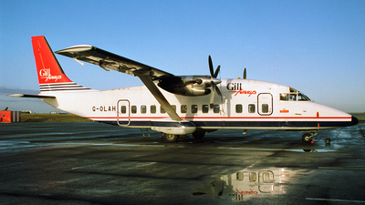 G-OLAH - Short 360-100 - Gill Airways