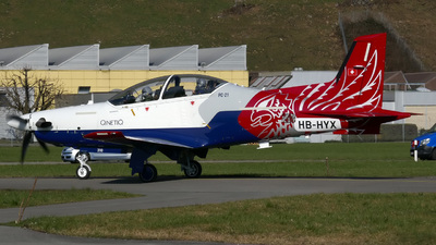 A picture of HBHYX - Pilatus PC21 - Pilatus Flugzeugwerke - © Mirko Bleuer