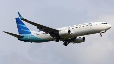 PK-GNJ - Boeing 737-8U3 - Garuda Indonesia
