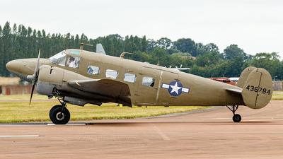 N45CF - Beechcraft G18S - Private