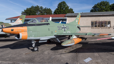 99-01 - Fiat G91-R/3 - Germany - Air Force