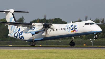 G-ECOR - Bombardier Dash 8-Q402 - Flybe