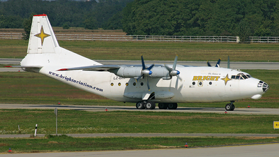 LZ-BRP - Antonov An-12B - Bright Aviation Services