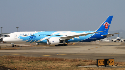 A picture of B20D7 - Boeing 7879 Dreamliner - China Southern Airlines - © Wuweican