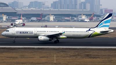 HL7731 - Airbus A321-231 - Air Busan