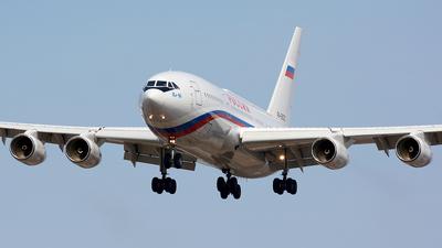 A picture of RA96020 - Ilyushin Il96300PU - Rossiya  Special Flight Squadron - © Fedor Kabanov