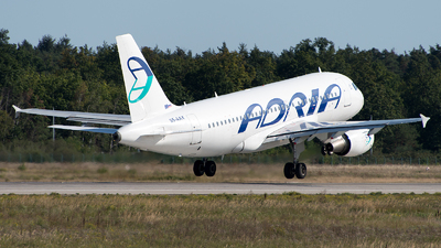 A picture of S5AAX - Airbus A319111 - Adria Airways - © GoldenWingPix