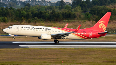 A picture of B1973 - Boeing 73787L - Shenzhen Airlines - © F3E1988