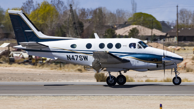N47SW - Beechcraft C90 King Air - Private