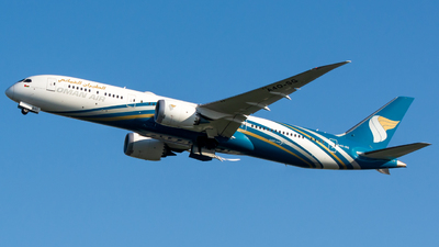 A picture of A4OSG - Boeing 7879 Dreamliner - Oman Air - © srmark
