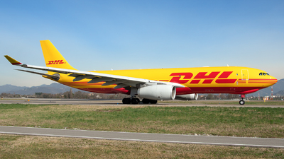 D-ALMC - Airbus A330-243F - DHL (European Air Transport)