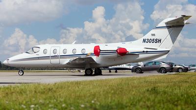 N305SH - Hawker Beechcraft 400XP - Private