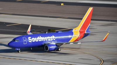 A picture of N765SW - Boeing 7377H4 - Southwest Airlines - © Stephen Jones