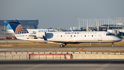 A picture of N429AW - Mitsubishi CRJ200LR - United Airlines - © Alexander Owen