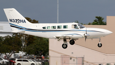 N322HA - Cessna 402C - Private