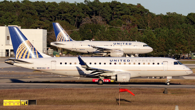 A picture of N88332 - Embraer E175LR - United Airlines - © Roger M