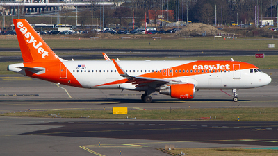 OE-IVT - Airbus A320-214 - easyJet Europe
