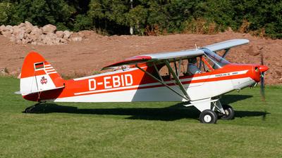 D-EBID - Piper PA-18-95 Super Cub - Private