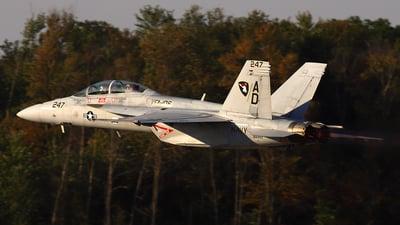 166467 - Boeing F/A-18F Super Hornet - United States - US Navy (USN)