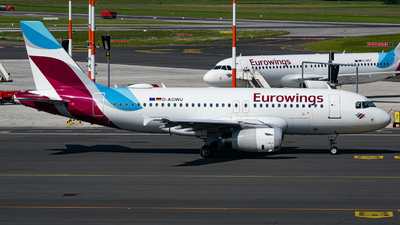 A picture of DAGWU - Airbus A319132 - Eurowings - © Niclas Rebbelmund