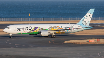 A picture of JA602A - Boeing 767381 - Air Do - © Yukemaro