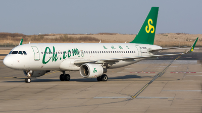 A picture of B1839 - Airbus A320214 - Spring Airlines - © BobH