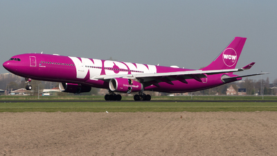 TF-WOW - Airbus A330-343 - WOW Air