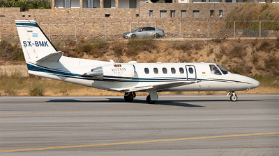 SX-BMK - Cessna 550B Citation Bravo - Private