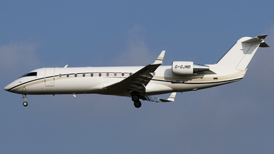 G-GJMB - Bombardier CL-600-2B19 Challenger 850 - TAG Aviation