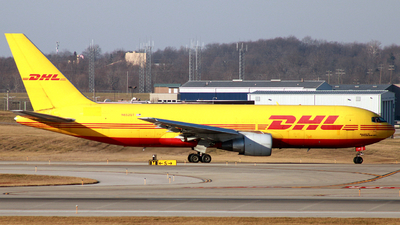 A picture of N652GT - Boeing 767231(BDSF) - DHL - © ajwebb