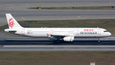 B-HTF - Airbus A321-231 - Dragonair